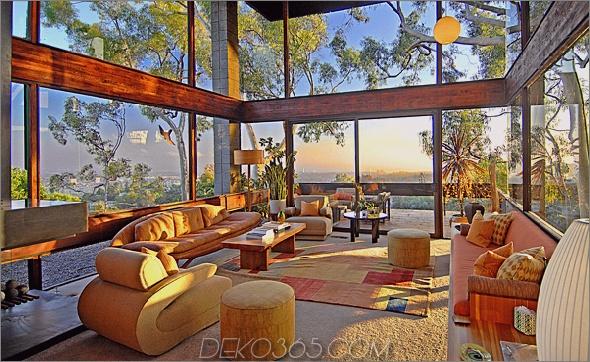 ray kappe residence 2 Luxus-Glasvilla in Los Angeles mit Blick auf das Tal für 4,5 Millionen US-Dollar