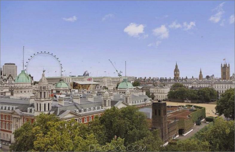 Blick auf das Carlton House Terrace Penthouse
