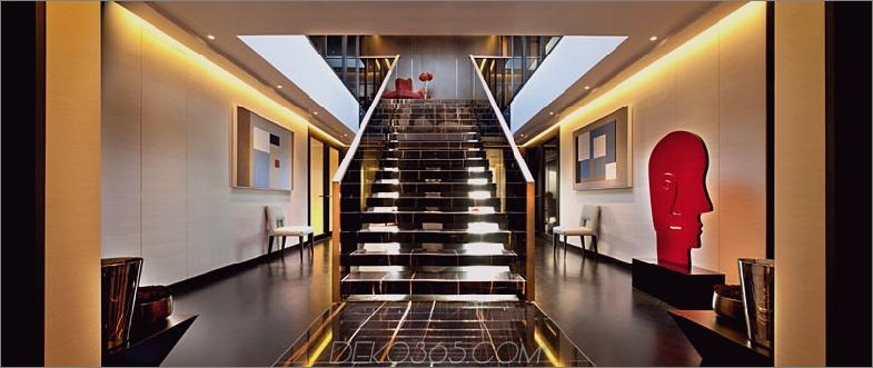 Die Heron Penthouse-Treppe