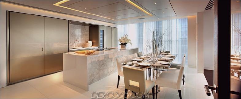 Die Heron Penthouse-Küche