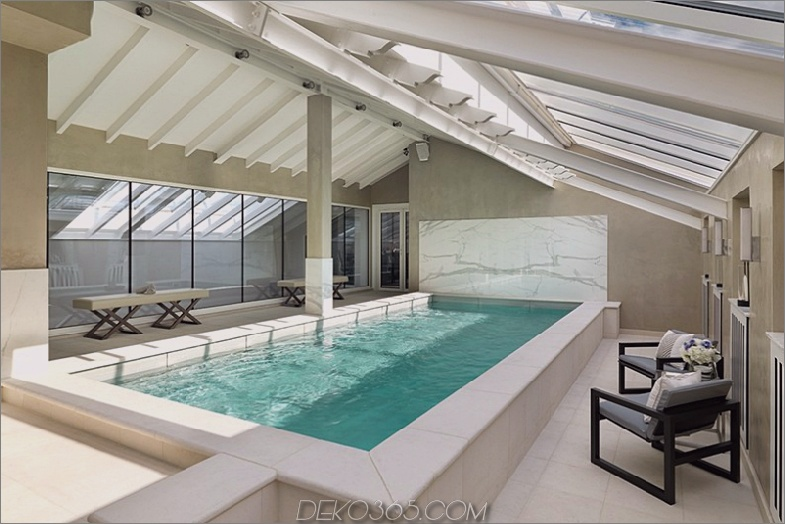 Abbots Duplex Penthouse-Hallenbad