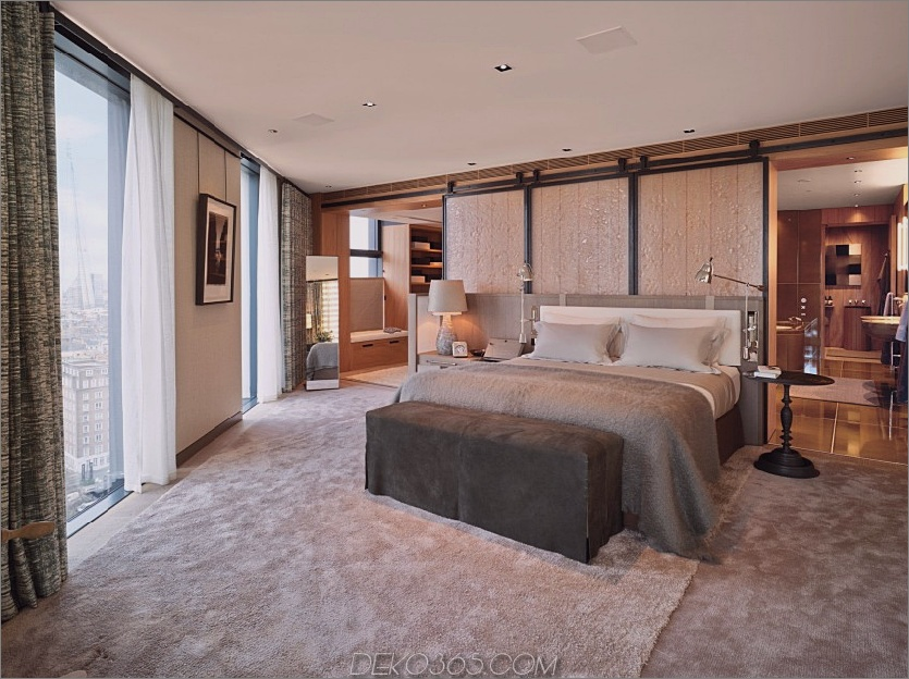 Penthouse bei NEO Bankside, Schlafzimmer