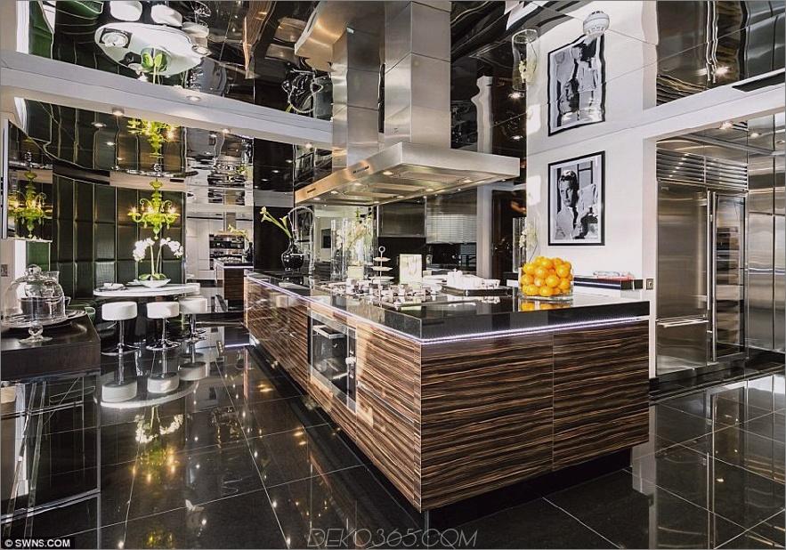 Tom Cruises London Penthouse, Küche