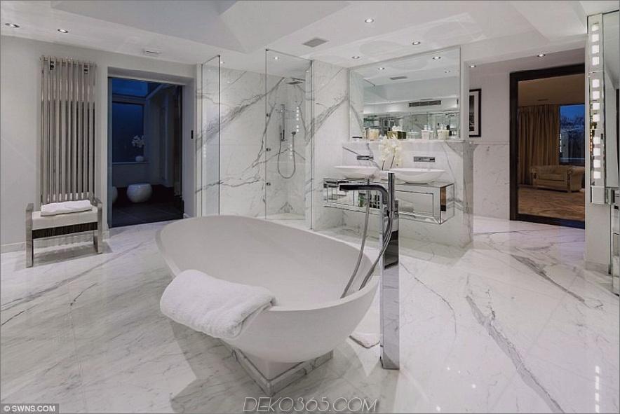Tom Cruises London Penthouse, Badezimmer