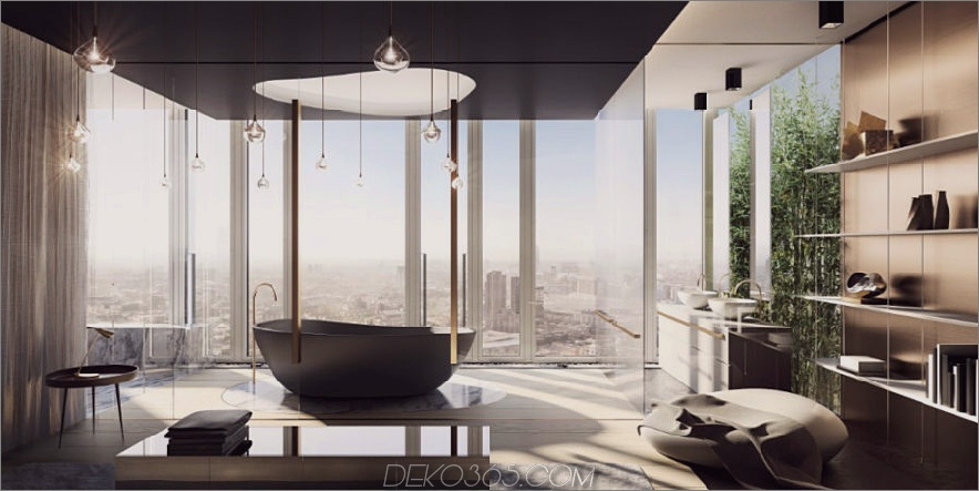 South Bank Tower-Penthouse-Badezimmer