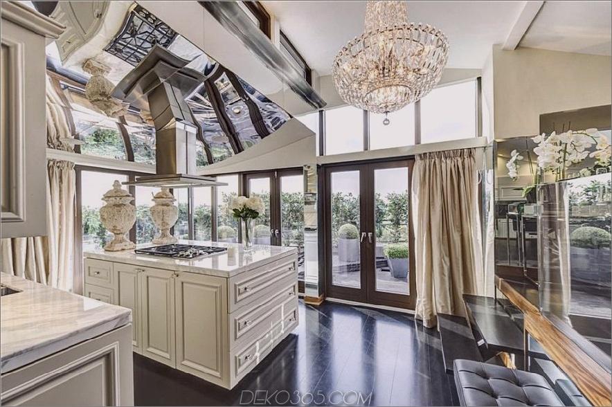 Hugh Grants London Penthouse, Küche