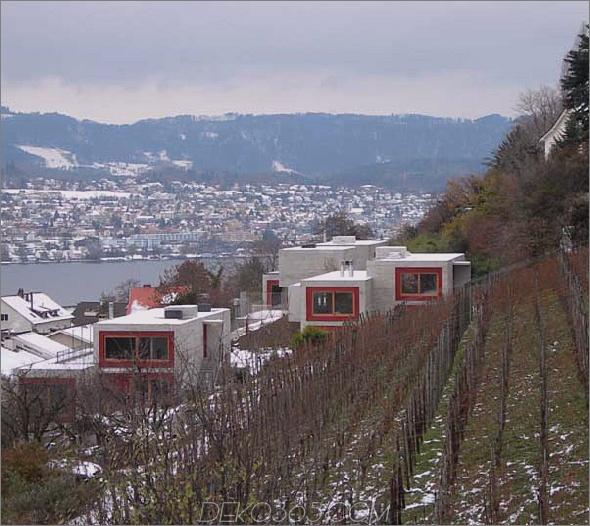 Han Bit House 21 Luxury Concrete Fortress am Zürichsee, Schweiz Wir mögen Beton!