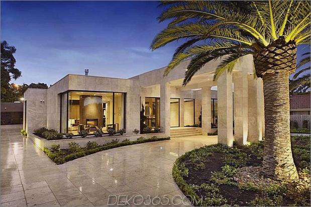 Luxushaus in Melbourne mit Säuleneinstieg und Innenhöfen 2 thumb 630x419 29249 Luxushaus in Melbourne mit Säuleneinstieg und Innenhöfen