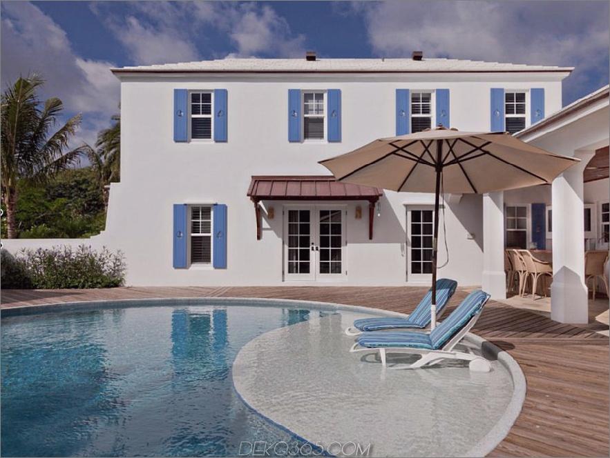 Colonial Bermuda-Residenz-Pool