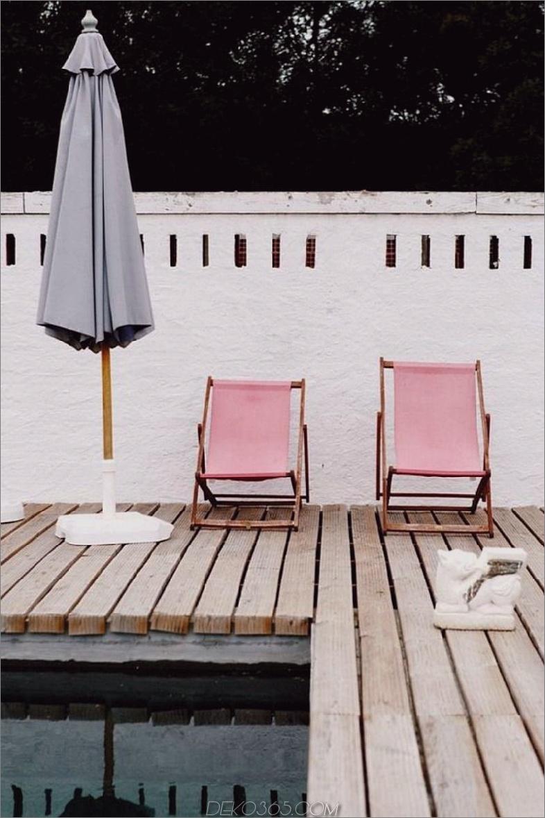 Trendy Pool Pink Liegestühle