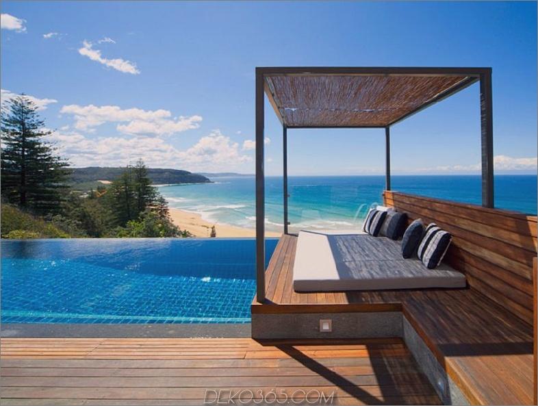 Tropisches stunnig Strandseitehaus
