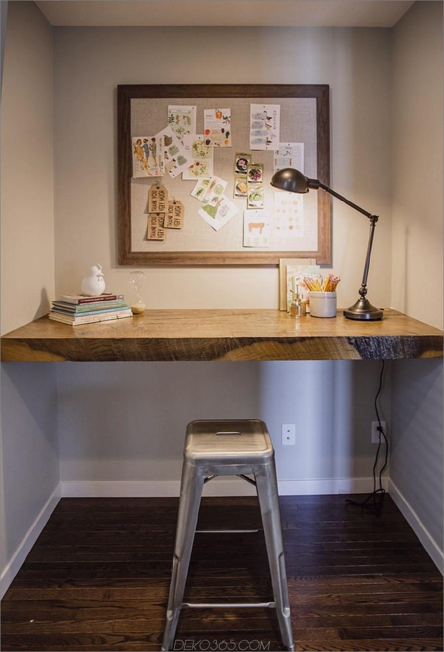 Verwandeln Sie einen Schrank in ein Büro