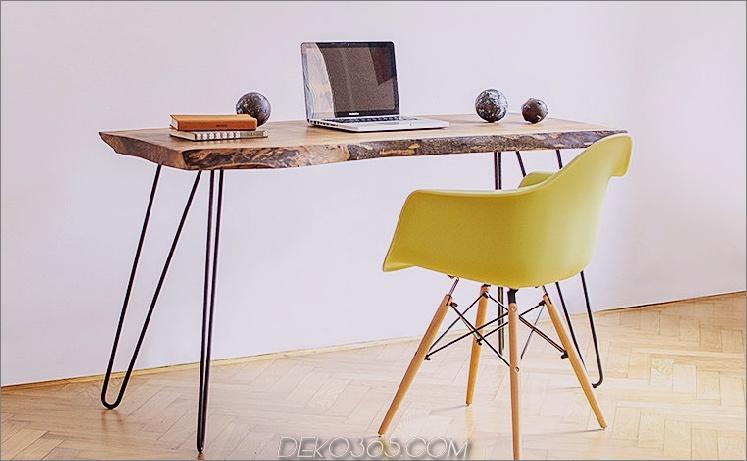 Rustikaler Holztisch von Our Hood