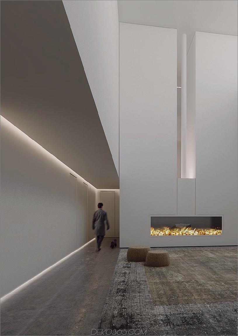 UNDERSCORE Eingebautes Beleuchtungsprofil von iGuzzini Machen Sie Ihr Zuhause zum Strahlen und Leuchten mit eingebauter Beleuchtung