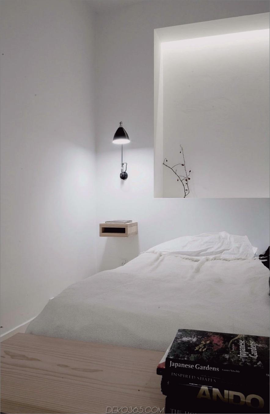 Kopenhagen Penthouse Schlafzimmerbeleuchtung von Norm Architects