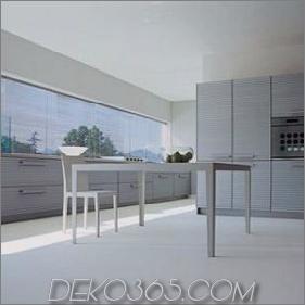 Moderne Küche von Schiffini - Cinqueterre Küche aus eloxiertem Aluminium