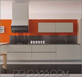 Moderne weiße Küchen - neue Küche G-one von Schiffini