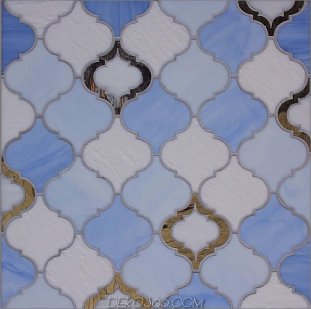 zufälliger marokkanischer weißer Regentropfen-Peri-Spiegel 3 thumb 630xauto 50228 Marokkanischer Stil Glasfliese von Edgewater