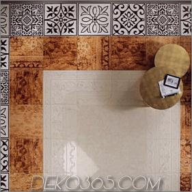 Fliesenboden Dekorieren von Ideen und Designs von Fap