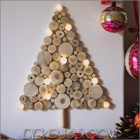 Wand-Weihnachtsbaum-Ideen - Top 20 für 2012