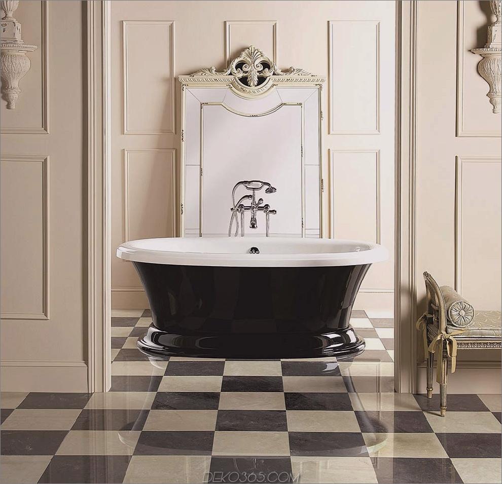 Hauptschlafzimmer mit Check-Fußböden Hauptbadezimmer Renovierungsideen
