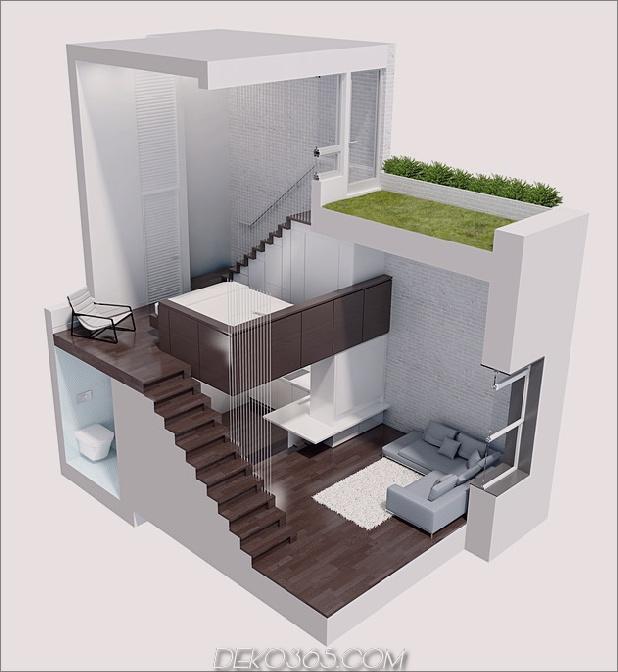 micro loft maximiert 425sqft platz modern makeover 2 abschnitt thumb autox684 46897 micro loft maximiert 425sqft platz in modernem makeover