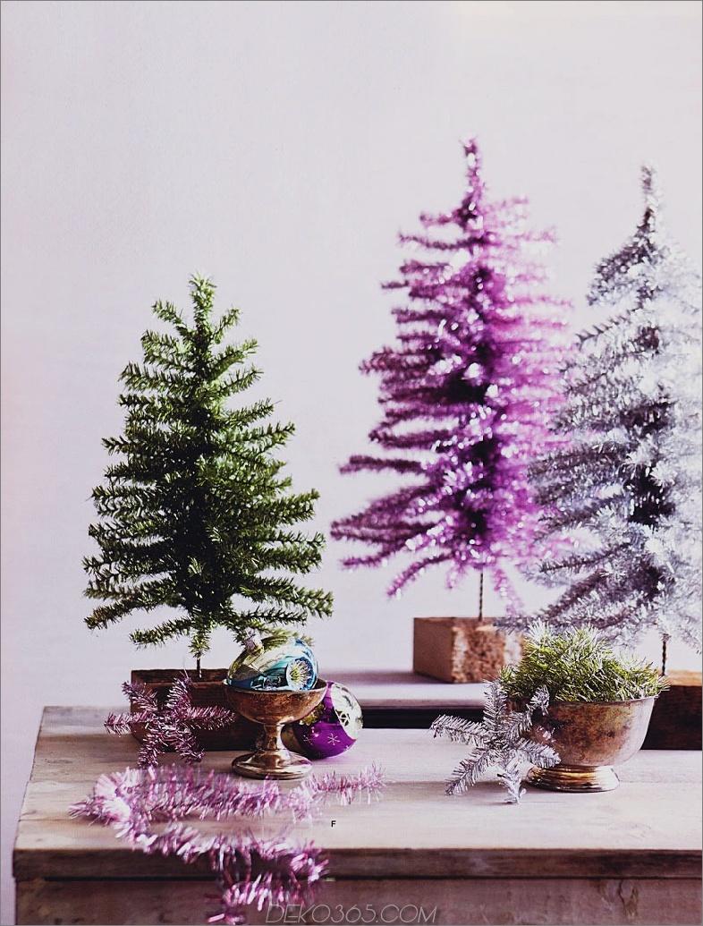 Lametta Christmas Treees Mini Weihnachtsbaum Dekor, die eine ganze Menge Sinn machen