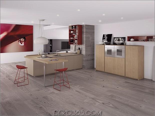 minimalistische Küche mit roten Akzenten von comprex 1 thumb 630x472 20273 Minimalistische Küche mit roten Akzenten von Comprex