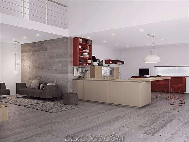 minimalistische Küche mit roten Akzenten von comprex 2 thumb 630x472 20275 Minimalistische Küche mit roten Akzenten von Comprex
