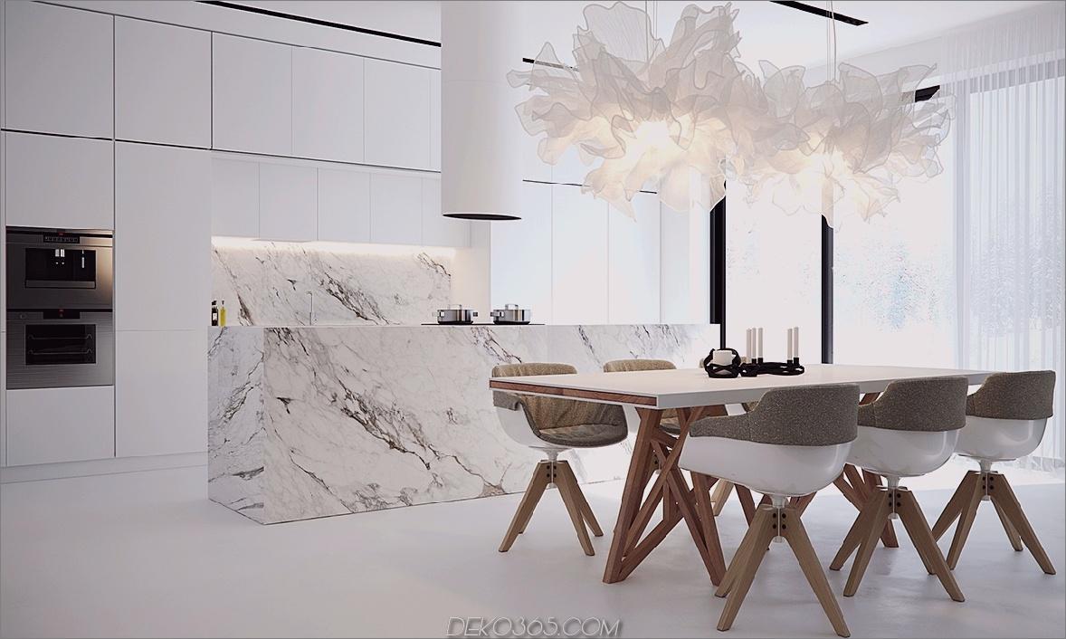 minimalistische Küchenmarmor Minimalistische Küchenideen, die nicht langweilig sind