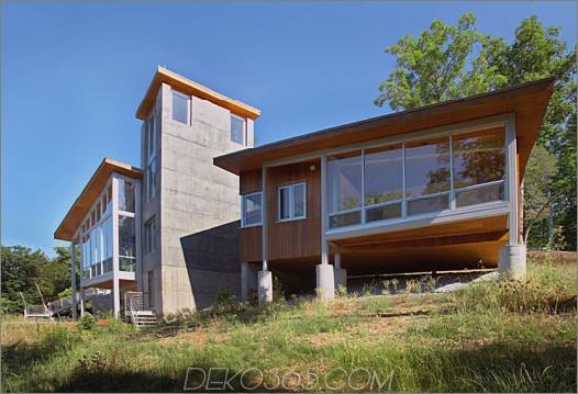 shenandoah Retreat Haus 2 Modern Retreat am Virginia Shenandoah River
