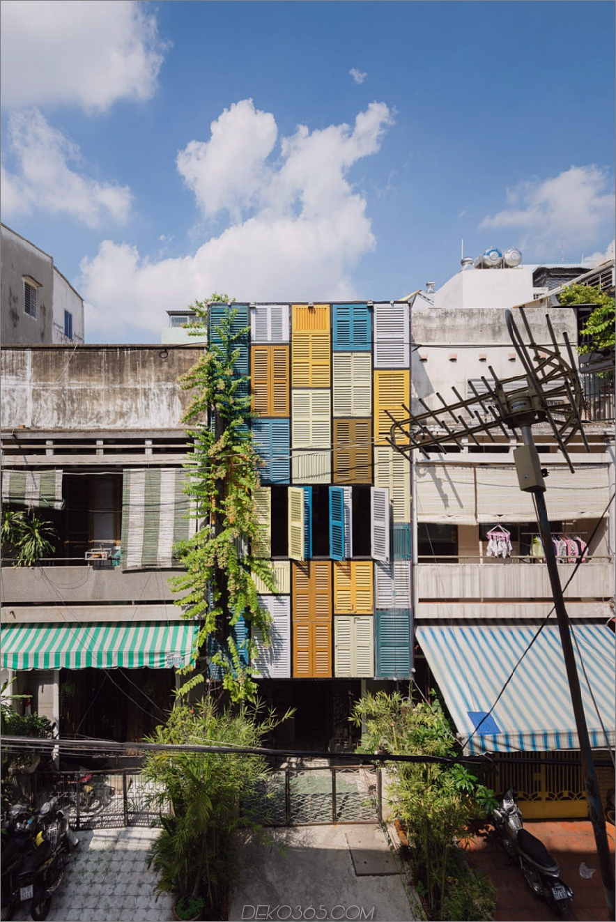 Veganes Haus von Block Architects in Vietnam