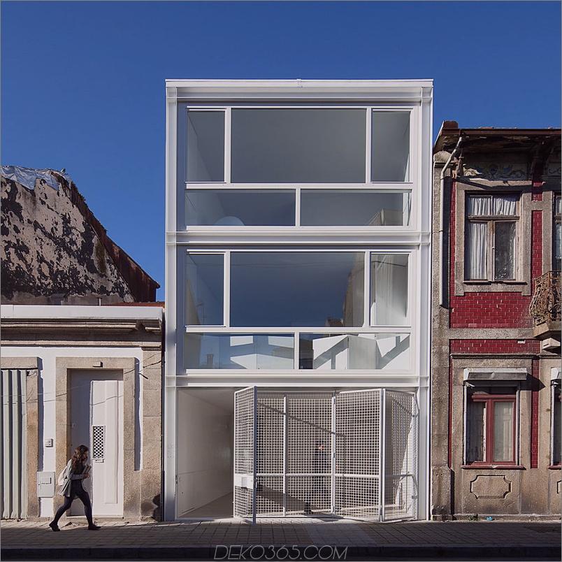 Lindo Vale Row-House von Claudia Monteiro und Vitor Oliveira