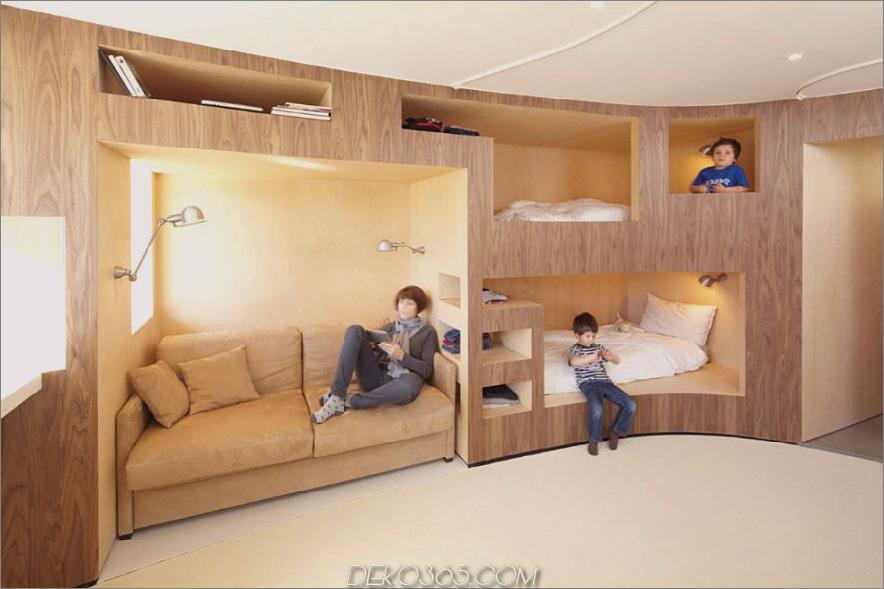 Die Kabine von H2o Architects