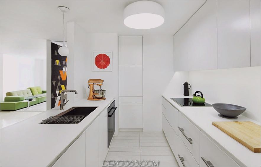Küche moderne Einbauten