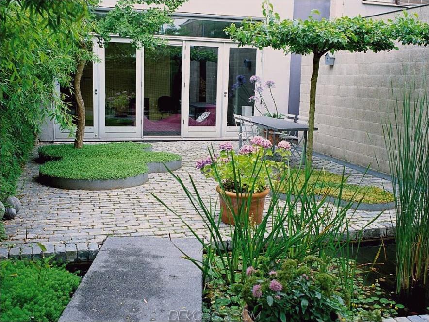 Moderne Gartenrasen
