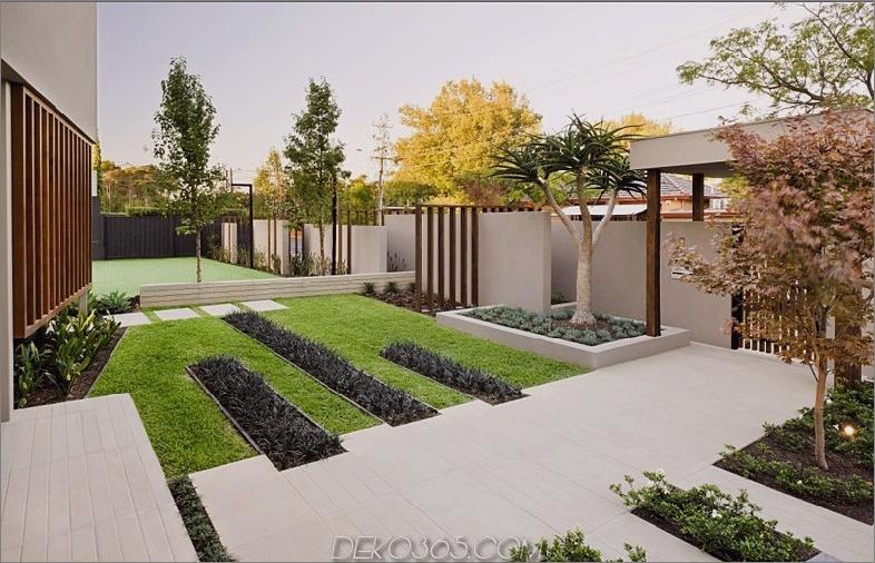 Minimalistische Gartengestaltung