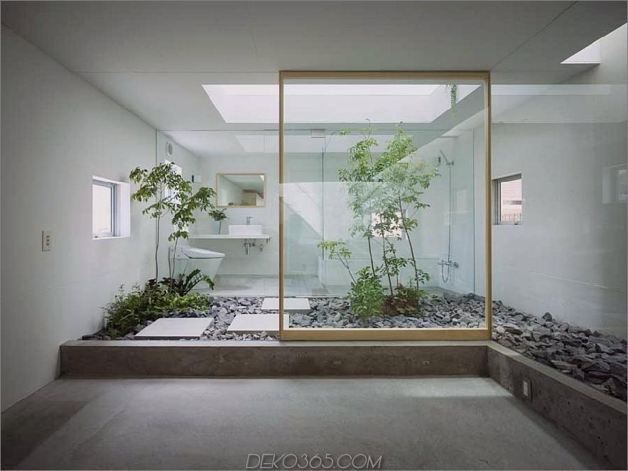 Badezimmer Innengarten