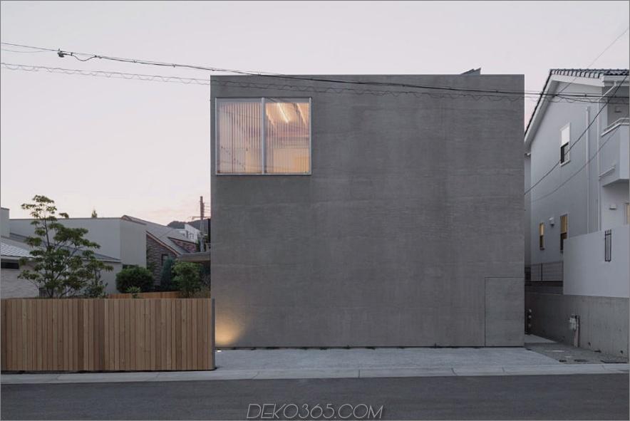 Gefühl des Distanzhauses von Tsubasa Iwahashi Architects