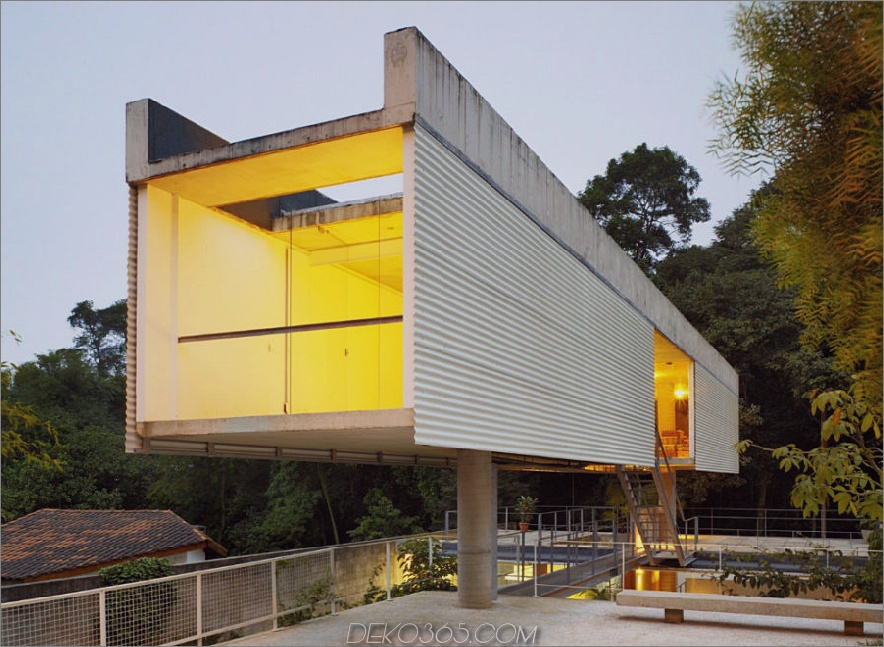 Carapicuiba Haus von Angelo Bucci + Alvaro Puntoni
