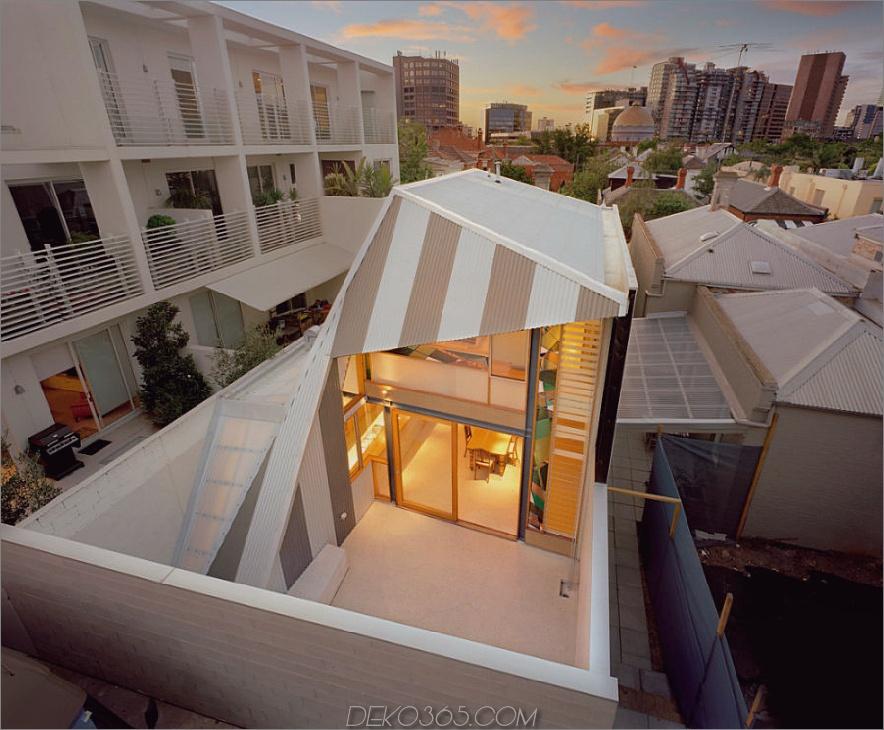 Das Augenlidhaus von Fiona Winzar Architects