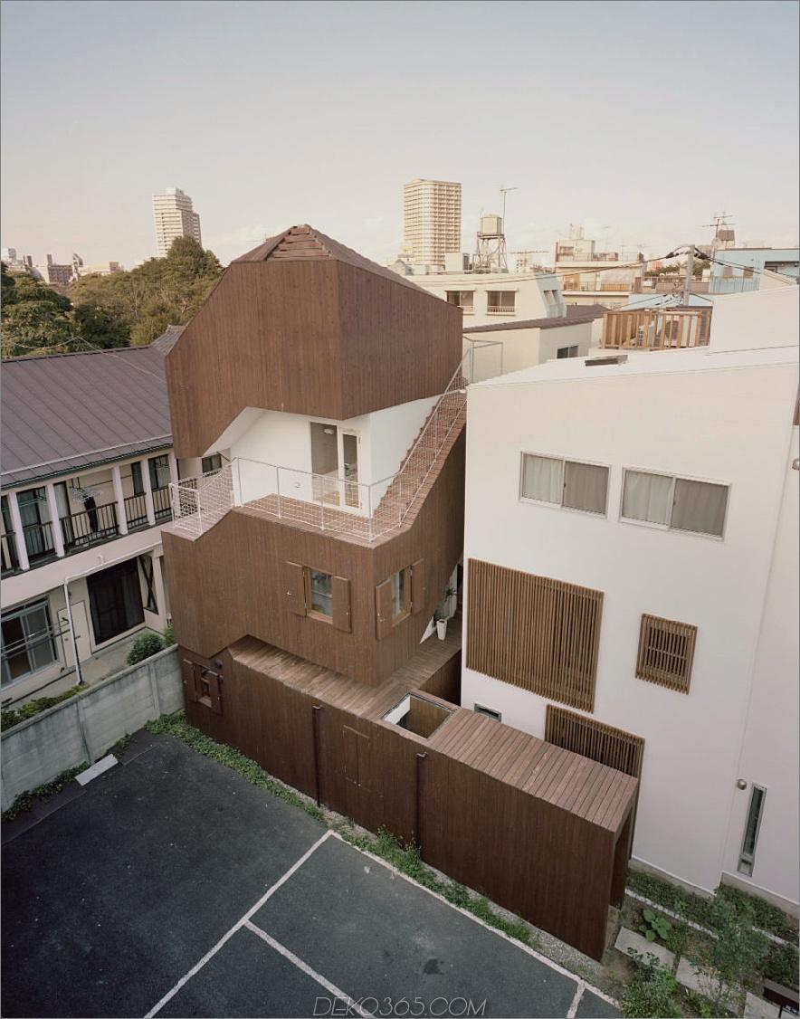 Doppelhelixhaus von Onishimaki + Hyakudayuki Architects
