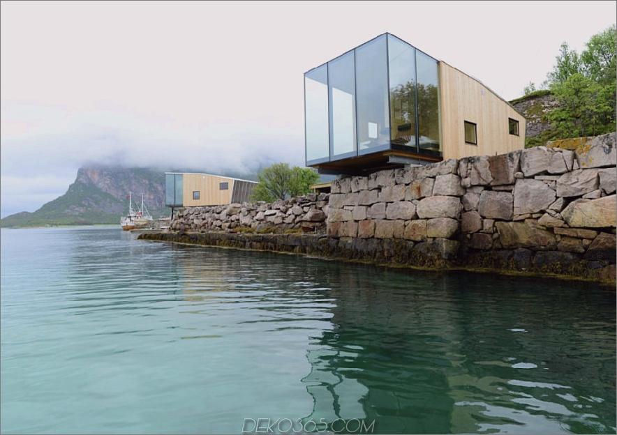 Manshausen Island Resort von Stinessen Arkitektur