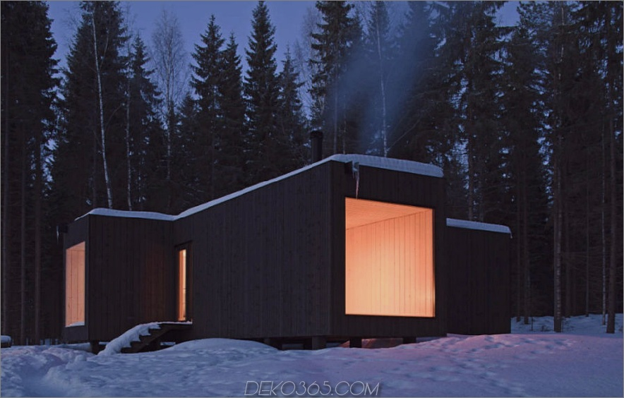Hütte in Finnland von Avanto Architects