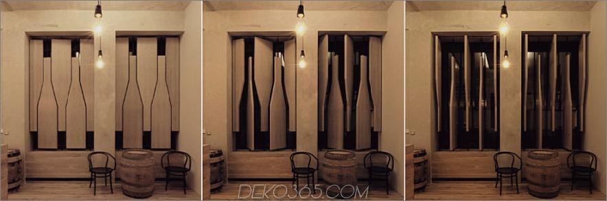 Weinladen Fensterläden