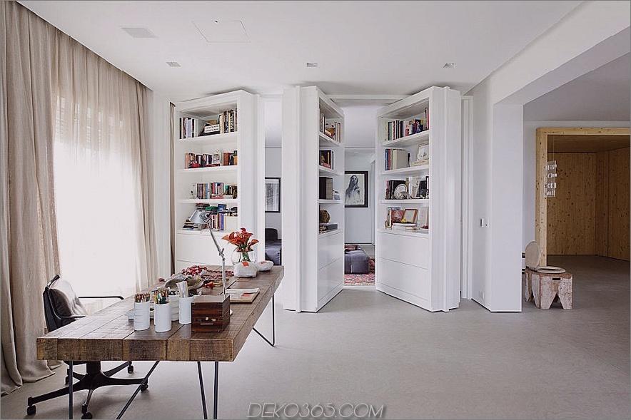 Versteckte Zimmertüren von Consuelo Jorge Architetos. 900x599 Moderne Innentürentwürfe für die meisten stilvollen Raumübergänge