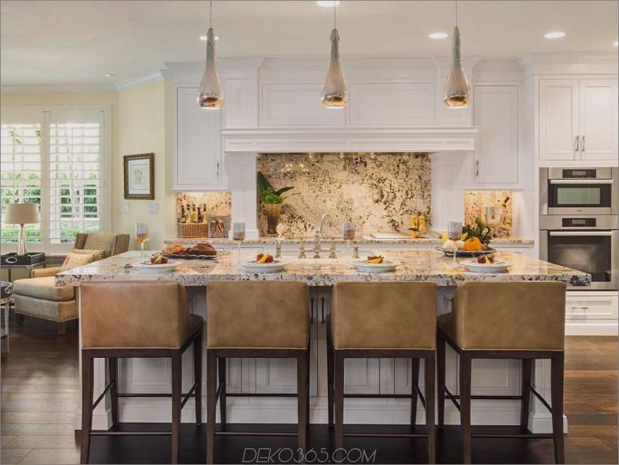Granit-Backsplash von Denise Ward Interior Design