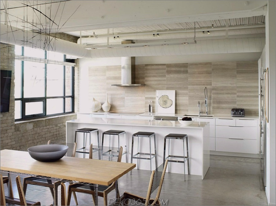 Loft-Stil Küche von Croma Design