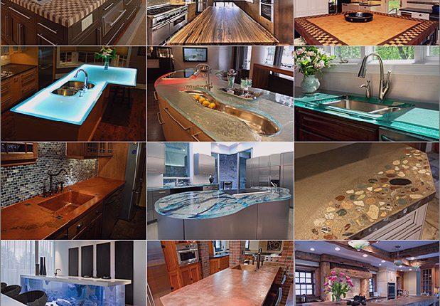 Moderne Küchenarbeitsplatten aus ungewöhnlichen Materialien: 30 Ideen_5c590b46d4c08.jpg