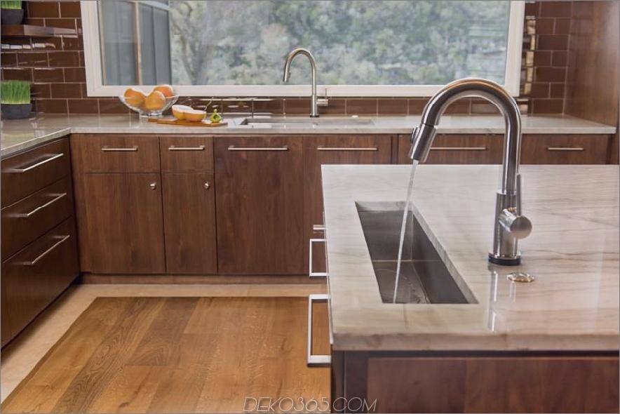 Paula Ables Küche mit modernen, eleganten Waschbecken